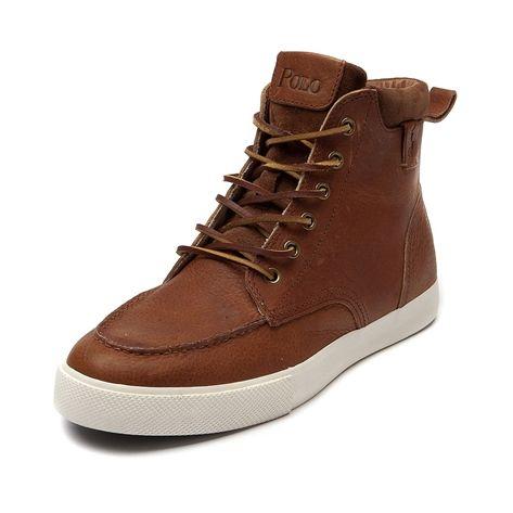 shop for mens tedd casual shoepolo ralph lauren in tan