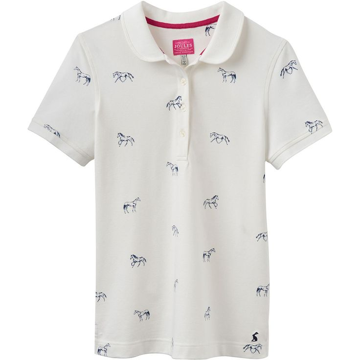 Joules Ladies Trinity Polo Shirt available from Derbyhouse