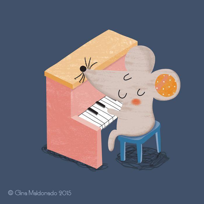 мышка на пианино картинки организациях ип, которых