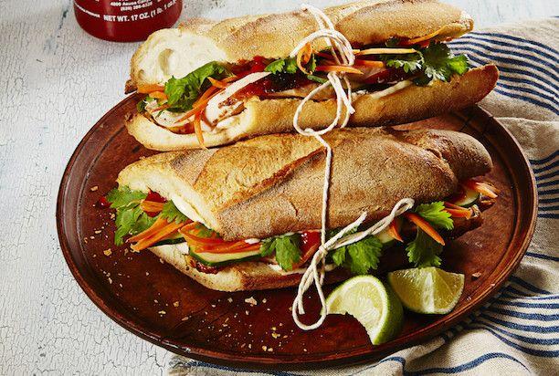 Сэндвичи с курицей