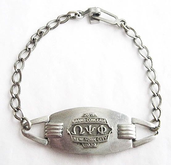 Vintage Omega Psi Phi 1939 Grand Conclave by prettyvintagejewelry