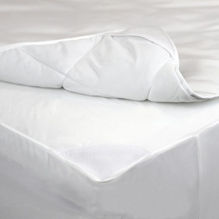 allerease 2in1 waterproof allergy protection mattress padwhite california king - Waterproof Mattress Pad