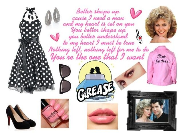50s Style | Grease by alex-aki on Polyvore