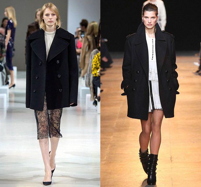 Слева — Nina Ricci, справа — Isabel Marant