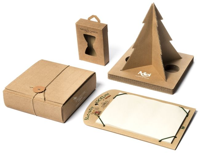 Arbos recycled cardboard: from the boxes to new communication tools #arbos #recycled #box #communication