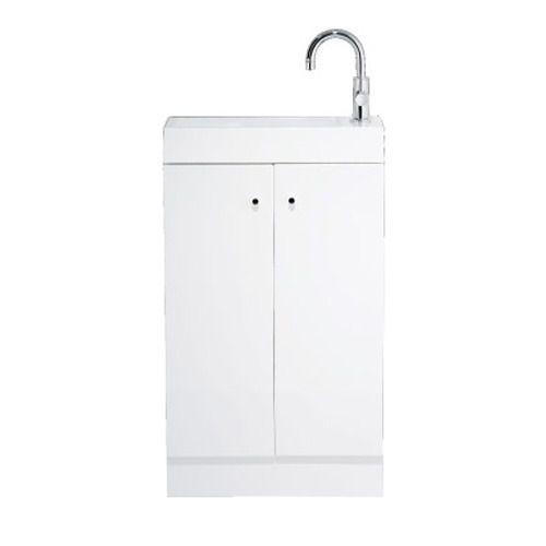 Alpine 495 basin and floorstanding vanity unit large