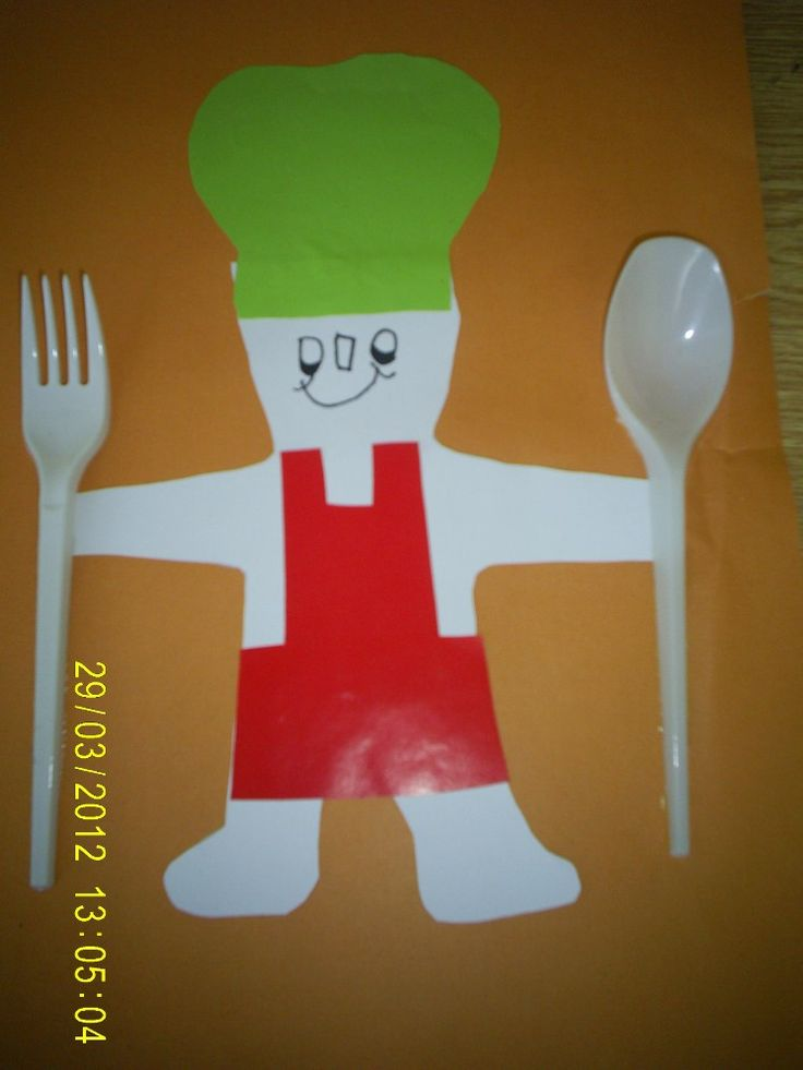 Chef crafts and activites for kids 21