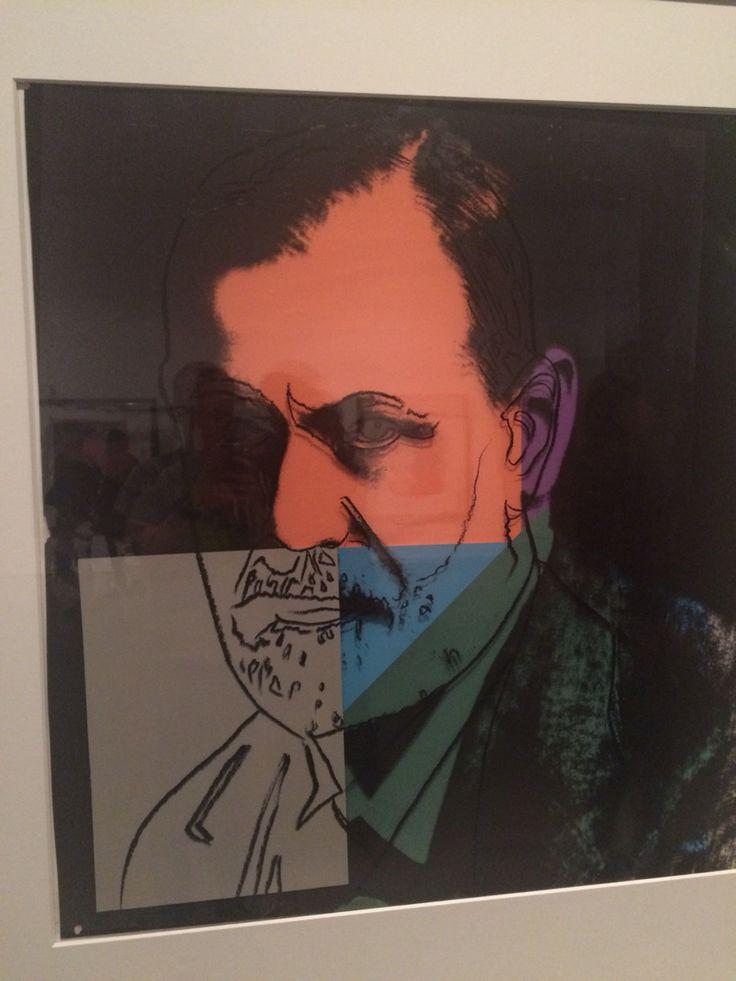 Sigmunt Freud by #AndyWarhol #10Jews #contemporaryart