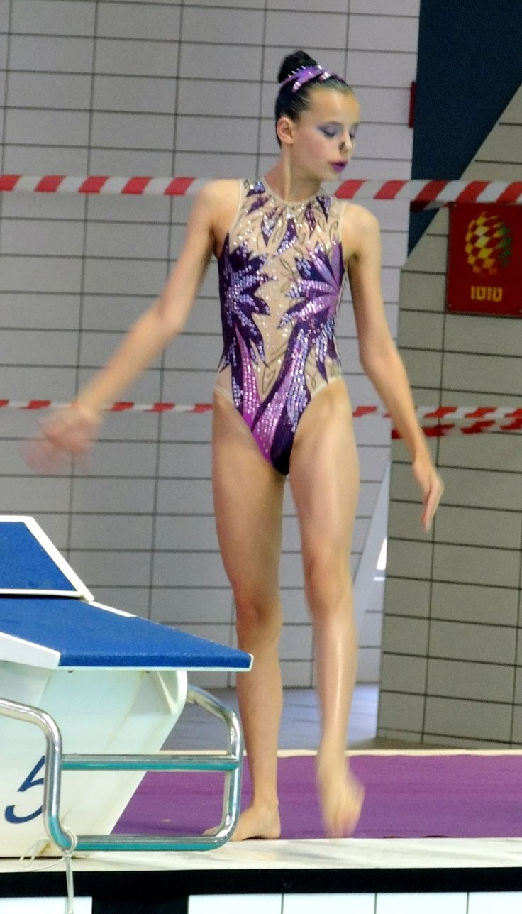 tailoring competition swimsuits, pfotos from synchronized swimming competitions