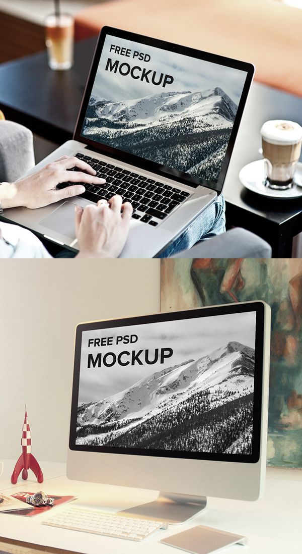 Free PSD Mockup Templates