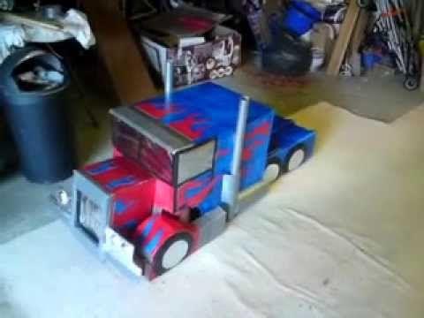 Transformers: Optimus Prime Fancy Dress Costume - YouTube