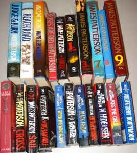 Anything by James Patterson