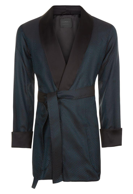 Silk Noblesse Short Robe | La Perla