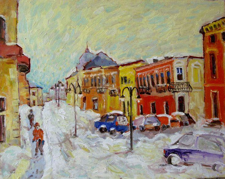 Ultima zi de Iarna,u/p,40/50cm,2015