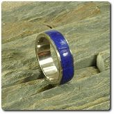 Pierścionek lapis lazuli