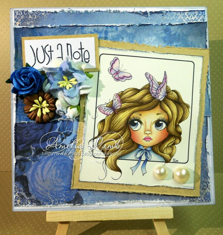 Milly's Cards - The Stamping Chef - Suzette