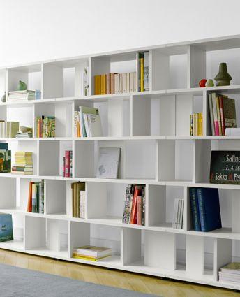 I love fun bookshelves