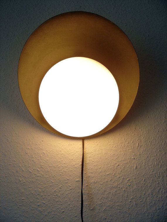 Extremely Rare BAUHAUS Modernist Asymetrical BÜNTE & REMMLER | Wall Light | Lamp | Sconce | Germany, 1930s - 1950s