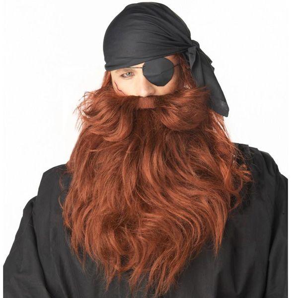 ハロウィン 小道具 用品 グッズ ロング 付け ひげ  パイレーツ カリブの海賊 コスチューム コスプレ 仮装 衣装 ハロウィーン:楽天