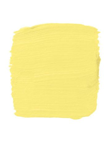 """""""It's hard to get yellow right — usually it's too green or too red or too muddy. But this is nice and clear, without being shrill. If it's too vivid, it's like living in an omelet."""" -John Yunis Pictured, Fine Paints of Europe's Sunnyside Lane 7014T   - HouseBeautiful.com"""