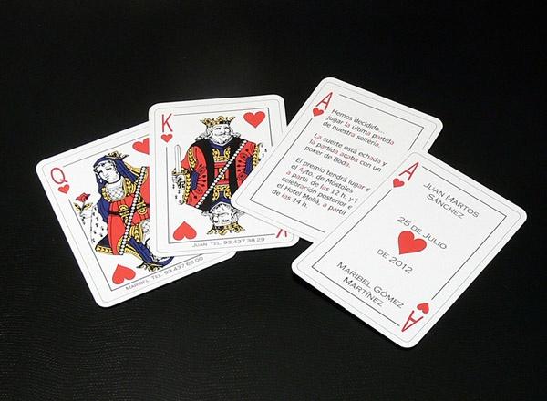 Invito Nozze - Gioco Carte I58J3-D