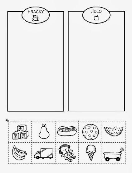 Hračky - jídlo