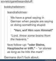 Funny tumblr post<<<ist Deutsch nicht toll?