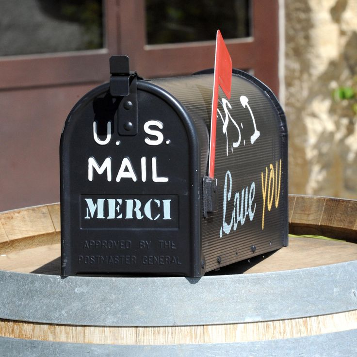 Boite aux lettres américaine