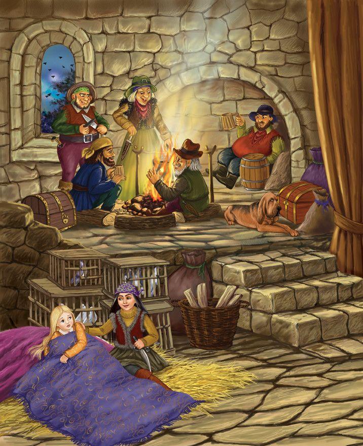 Разбойники в сказках с картинками