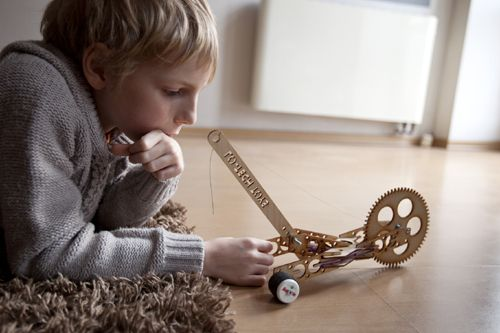This is our first toy. #wood #toy #diy #recycle #toys #kids #fun #gdynia #car