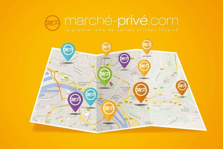 Marché Privé propose des ventes privées locales avec des remises jusqu'à 80% sur les commerces et les services de sa ville.