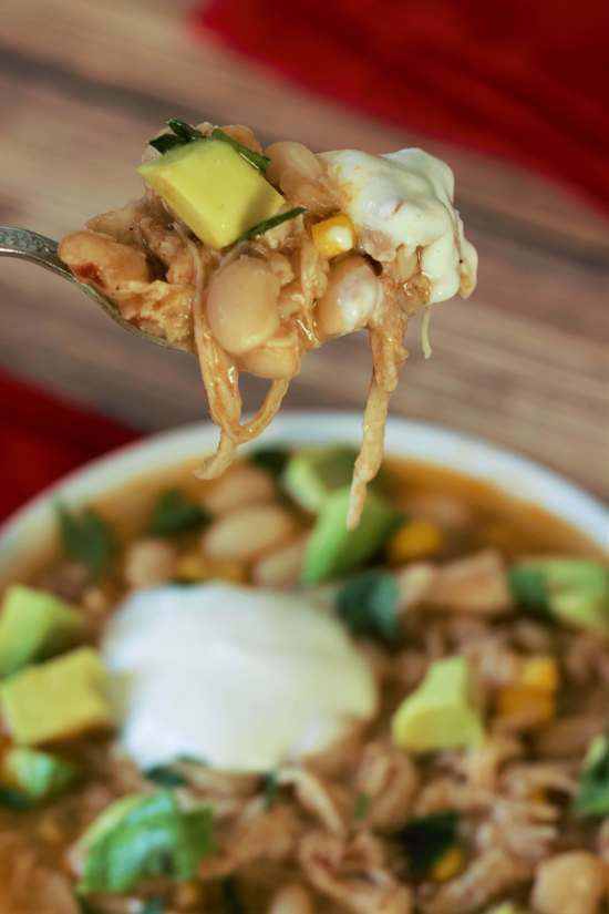 Slow Cooker Chipotle White Bean Chicken Chowder   Beans ...