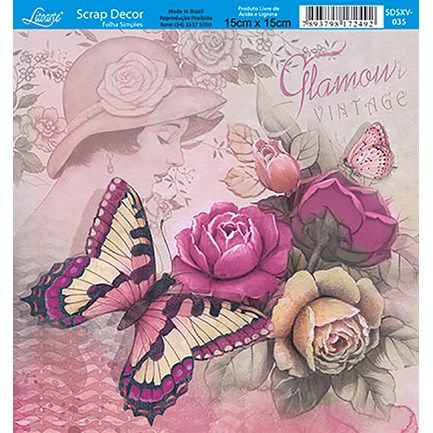 Papel-Scrap-Decor-Folha-Simples-15x15-Flores-SDSXV-035---Litoarte