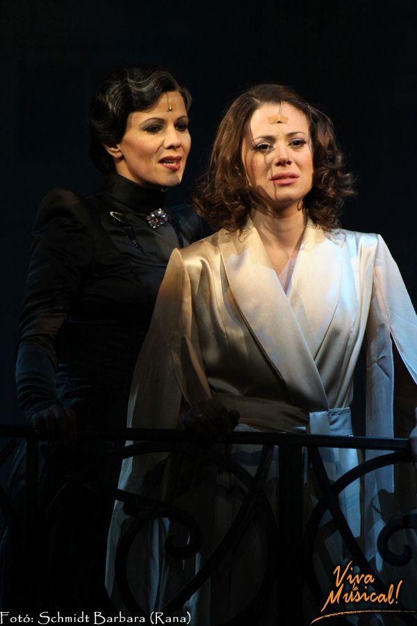 Rebecca ( Hungarian version) Dóra Szinetár as Daphne/ Me and Lilla Polyák as Mrs. Denvers