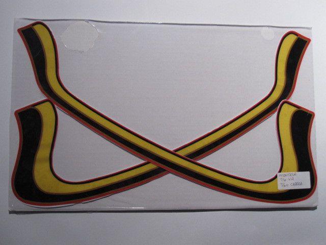 Montesa, 1976, Cappra 360, Tank Stripes Decals