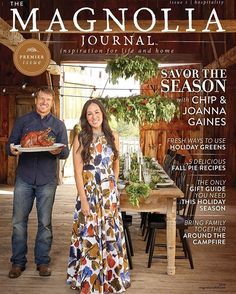 It's official! Magnolia will be releasing the very first issue of our quarterly lifestyle magazine, The Magnolia Journal, in just a few days! Grab your copy at newsstands near you, or order at http://magnoliamarket.com, beginning October 11th. Subscriptions will open for the first time in spring of 2017, so stay tuned...there's more to come! Be sure to sign up for the newsletter to stay in the know! #themagnoliajournal