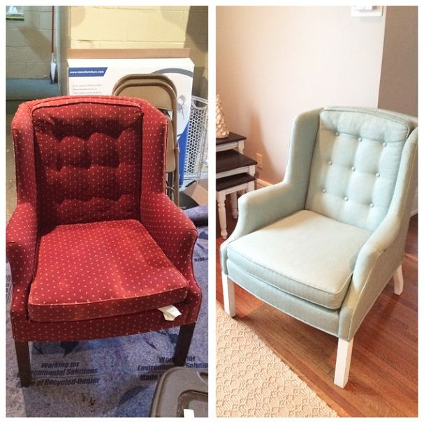 1000+ Ideas About Chalk Paint Chairs On Pinterest