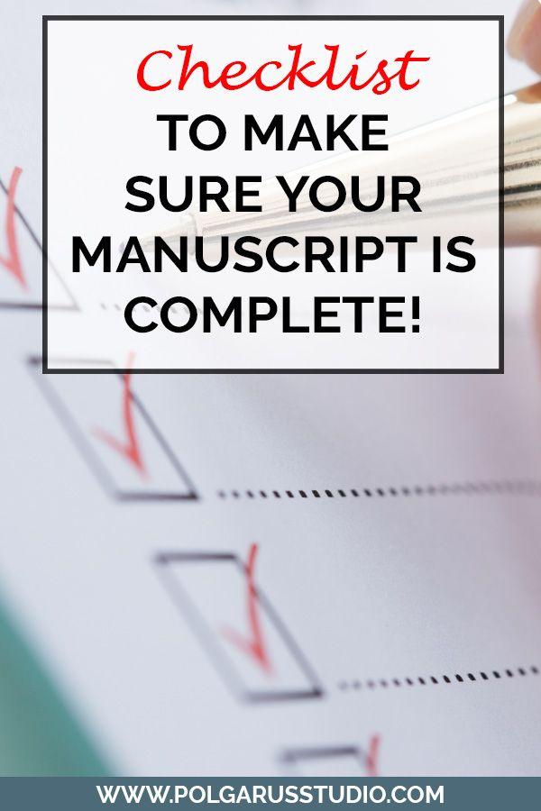 how to write a manuscript for a childrens book