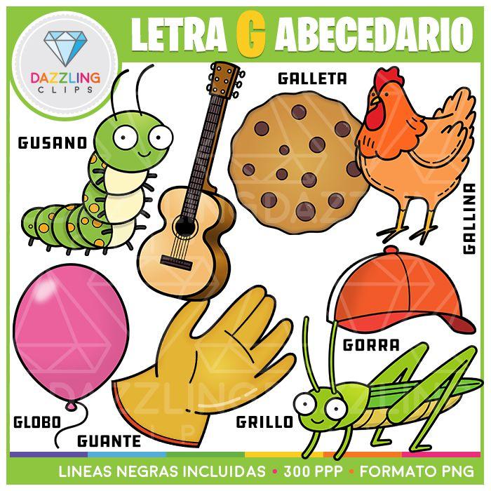 Letra G Abecedario Spanish Spanish Alphabet Letters Lettering Alphabet Spanish Alphabet