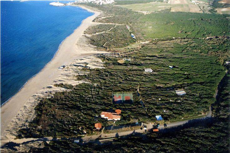 Vista aerea del Campeggio Nurapolis