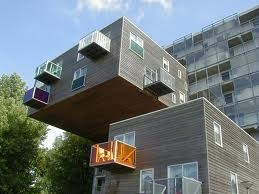 Amsterdam Apartments: Amsterdam Netherlands, Cool Houses, Unusual Building, Amsterdam Holland, Design Architecture, Unusual Houses, Amsterdam Apartment, Houses Design, Apartment Amsterdam