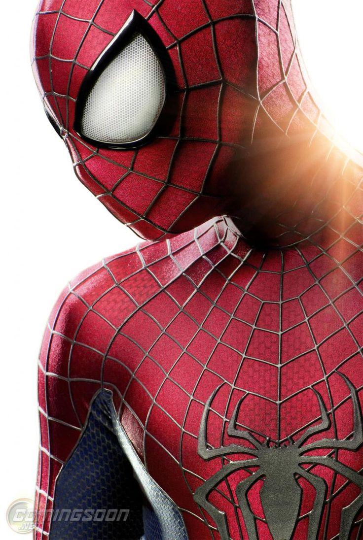 O Espetacular Homem Aranha Primeira foto oficial dos novos olhos
