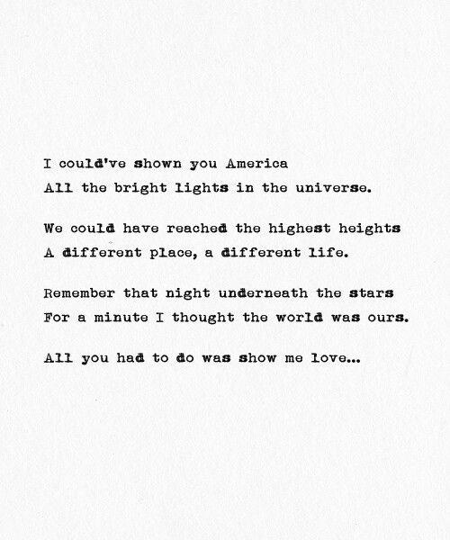Show Me Love- The Wanted (lyrics)