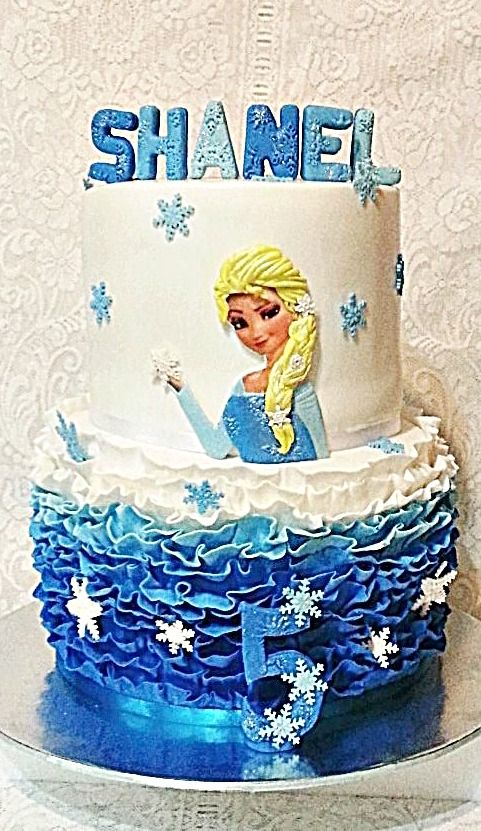 171 best frozzen images on Pinterest Frozen cake Frozen party and