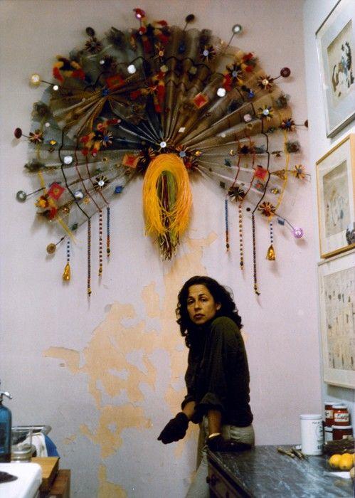 Lynda Benglis, feminist artist