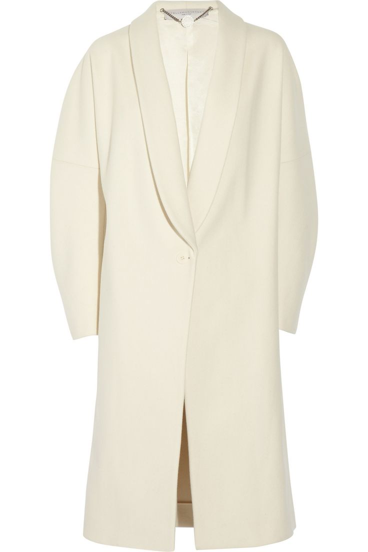 Oversized wool-felt coat by Stella McCartney