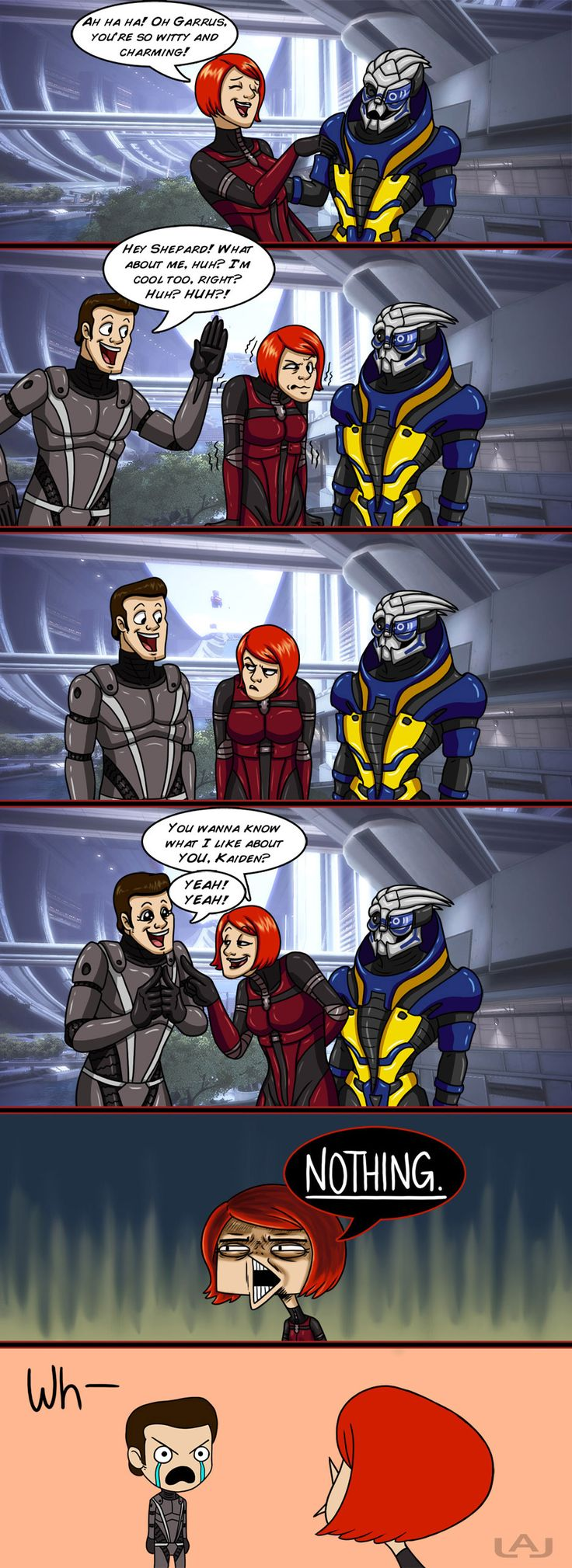 Mass Effect by Red-Flare.deviantart.com on @DeviantArt