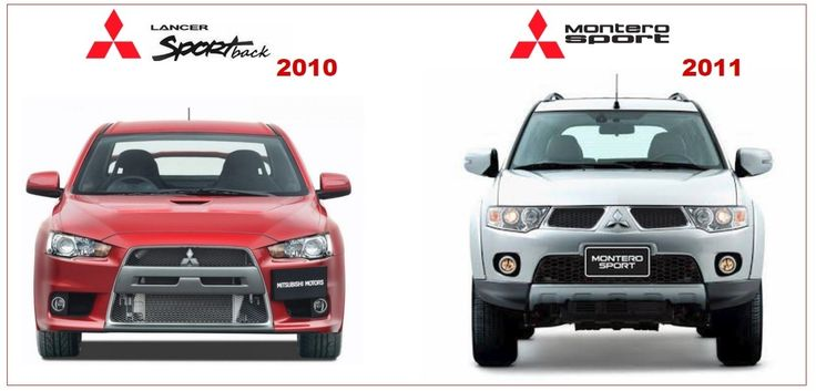 Mitsubishi Lancer 2010 & Montero Sport 2011 Workshop Manuals
