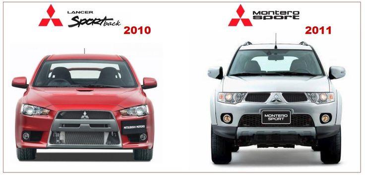 Mitsubishi Lancer 2010 & Montero Sport 2011 Workshop Manuals