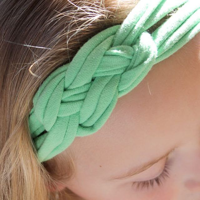 Celtic knot headband just made this super easy
